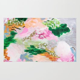 light path: abstract landscape Rug