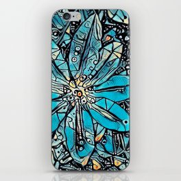 Clematis Blue Fantasia iPhone Skin