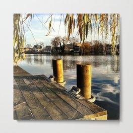Dock & Wade Metal Print