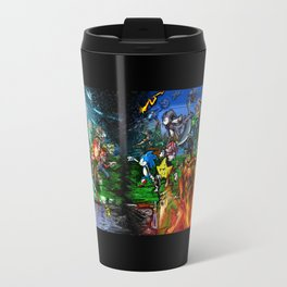 Nintendo Vs Sega Travel Mug