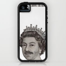 God shave the Queen iPhone Case