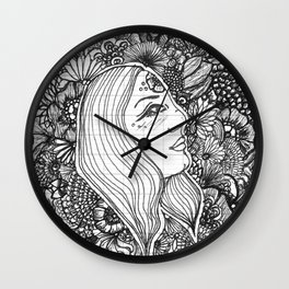 Know It All Black and White Wall Clock