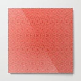 Valentine 3b pattern Metal Print