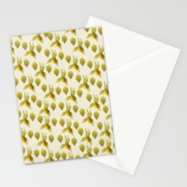 Physalis Pattern Stationery Cards