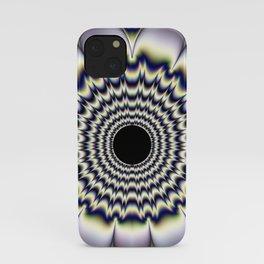 Fractal Wildflower iPhone Case