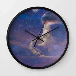 Off and Away Wall Clock