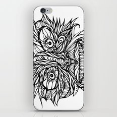 Face Flow Line iPhone & iPod Skin