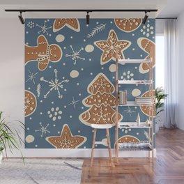 Gingerbread Cookies Wall Mural