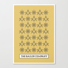 The sailor company V2.0 Canvas Print
