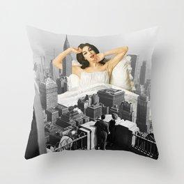 Urban Nymph Throw Pillow