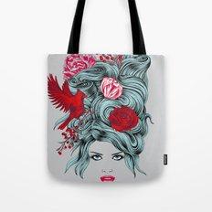 Winter Girl Tote Bag