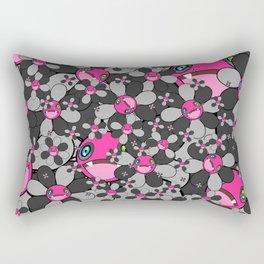 Halloween Flower nibbler #Halloween Rectangular Pillow