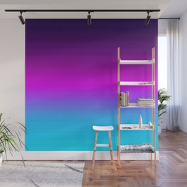 Cool Unicorn Ombre Gradient Wall Mural