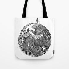 armadillos  Tote Bag