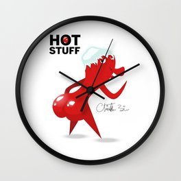 HOT STUFF! Wall Clock