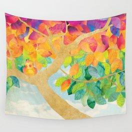 Shanti Sparrow: Gloria and Dot Wall Tapestry