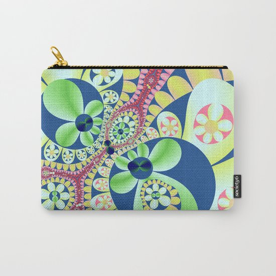 Floral fantasy pattern design Carry-All Pouch