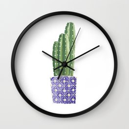 Cactus Best Friends - Cereus Wall Clock