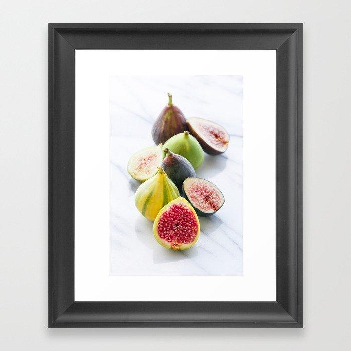 Four Figs Framed Art Print