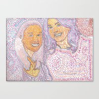 friendship Canvas Prints featuring Friendship by ExperienceMJ
