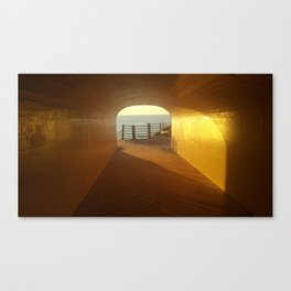 Tunnel Park Canvas Print