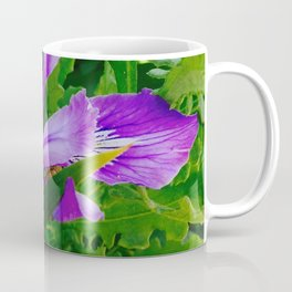 Wild Purple Iris Coffee Mug