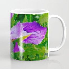 Wild Purple Iris Coffee Mug