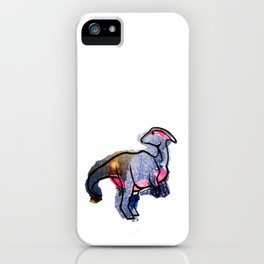 Parasaurolophus iPhone Case