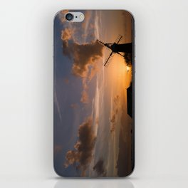 Sunset on the Norfolk Broads iPhone Skin