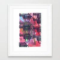 guns Framed Art Prints featuring Guns by Print Mafia