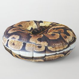 Ball of Python Floor Pillow
