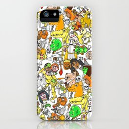 Medieval Roundup iPhone Case