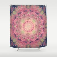 marie antoinette Shower Curtains featuring Marie Antoinette by Sandra Arduini
