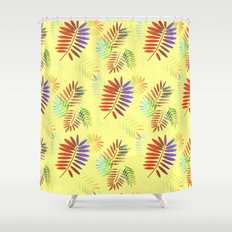 Cascading Tropics Shower Curtain