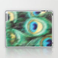 Peacock Feather Graphic Laptop & iPad Skin