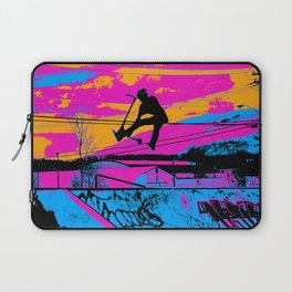 Lets Fly!  - Stunt Scooter Laptop Sleeve