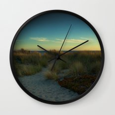 Stinson Beach at Sunset Wall Clock