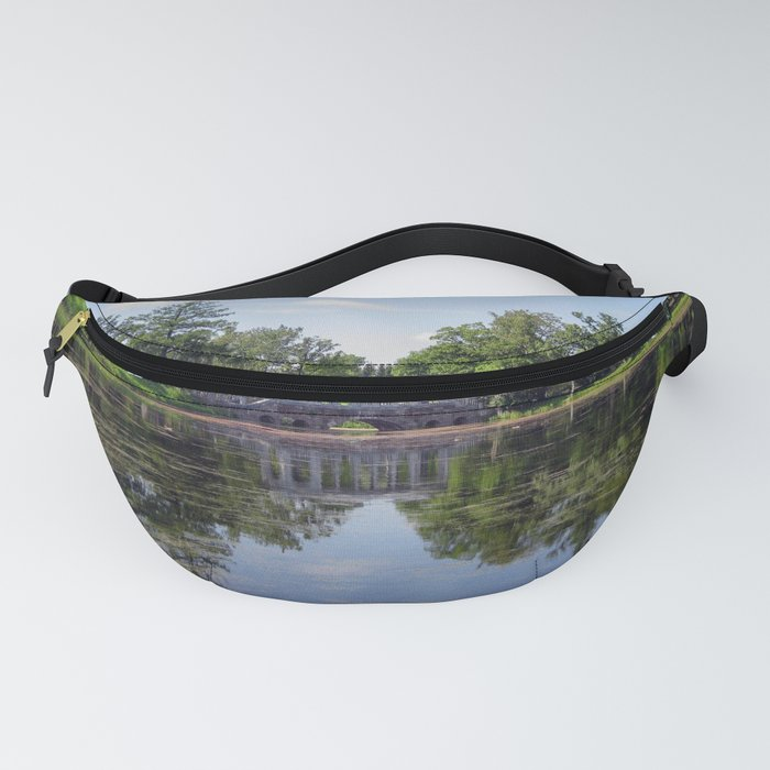 Marble Bridge on the woods Fanny Pack