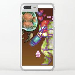 Samus Love Clear iPhone Case