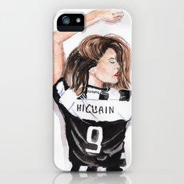 Juventus girl iPhone Case