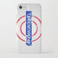 velvet underground iPhone & iPod Cases featuring Underground by eARTh