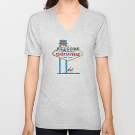 Welcome to Cheektavegas Unisex V-Neck