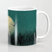 Winter night Mug