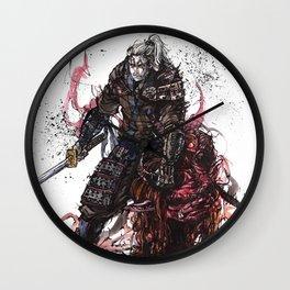 Geralt of Rivia Witcher Samurai Tribute Wall Clock
