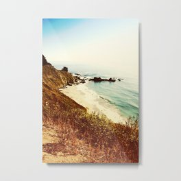 Big Sur Beach Metal Print