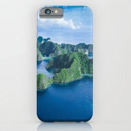 Raja Ampat Islands, Indonesia iPhone Case