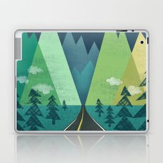 The Long Road at Night Laptop & iPad Skin
