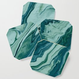 Blue Planet Marble Coaster
