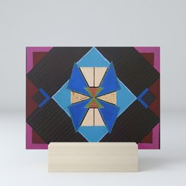 Tangram Geometric Art #1 Mini Art Print