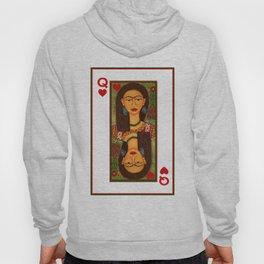 Frida Kahlo, reina de corazones Hoody